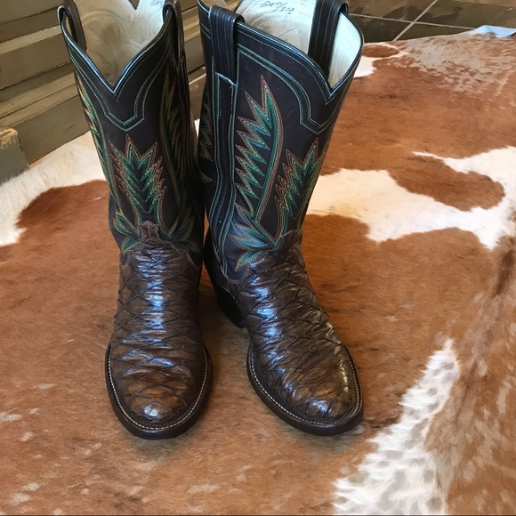 c0a6cbf5ca9 Vintage hand made M.L. Leddy anteater boots